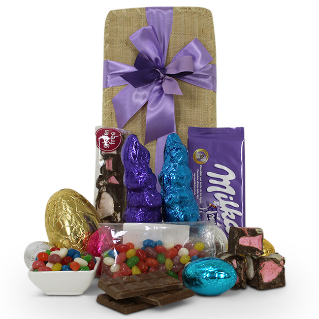 Easter bunny gift basket easter hampers easter gifts easter bunny gift basket pin it easterbunnybasket2018 negle Choice Image