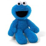 Cookie Monster Plush Take Along 24cm