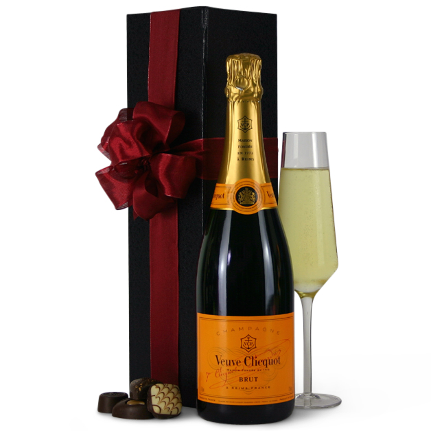 Veuve Clicquot Champagne Gift Boxed. Pin it. Click image to enlarge