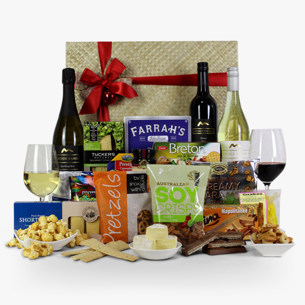 Australian Wedding Gifts For Overseas: Gift Hampers