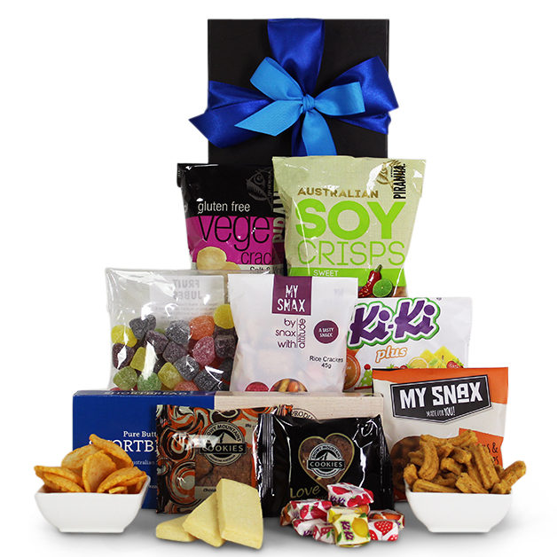 Get well gifts gift baskets tasty treats gift basket negle Choice Image
