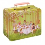 Girls Tin Lunchbox