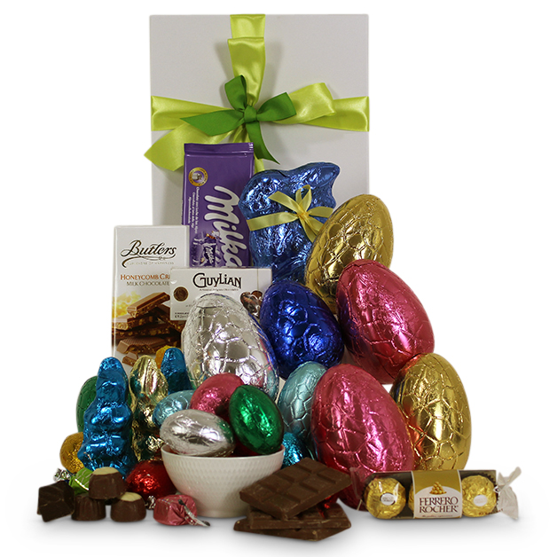 Chocolicious easter hamper easter gifts chocolicious easter hamper pin it chocoliciouseasterhamper2018 negle Gallery
