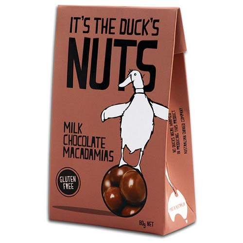 Duck Creek Chocolate Coated Macadamia Nuts 80g (GF)