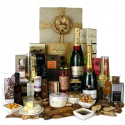 gift-baskets-champagne-christmas