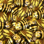 Milk Chocolate Bees x 3