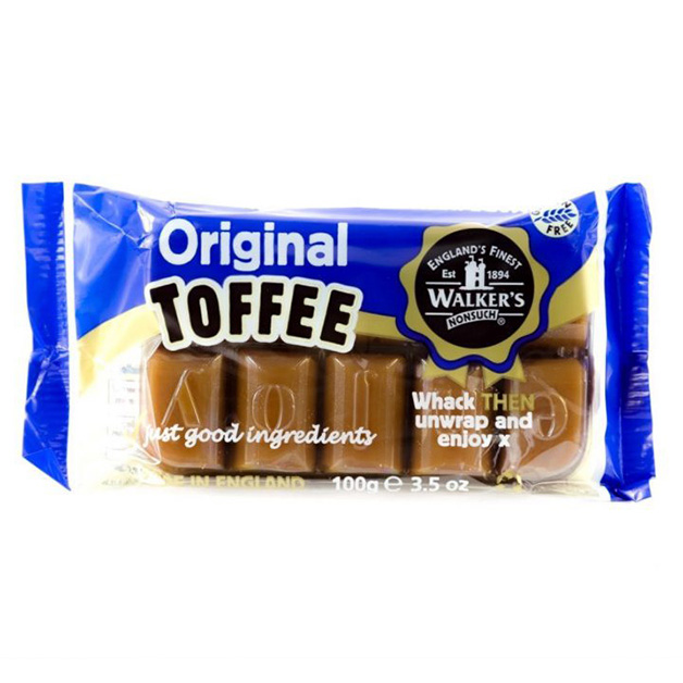 Walkers Toffee 100g