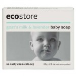 Ecostore Goat's Milk & Lavender Baby Soap 80g