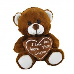 I Love you more than Coffee Bear 20cm