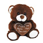 I Love you more than Chocolate Bear 20cm