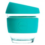 JOCO Reusable Glass Cup Small 236ml - Mint
