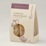 Mother Megs Biscotti-Cranberry & Pistachio 120g