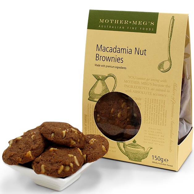 Mother Megs Macadamia Nut Brownies 150g
