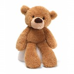 Cuddly Fuzzy Bear 38cm - Light Brown