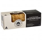 Valley Produce Co. Waterthin Crackers Cracked Black Pepper 100g