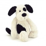 Jellycat Bashful Black & Cream Puppy 20cm