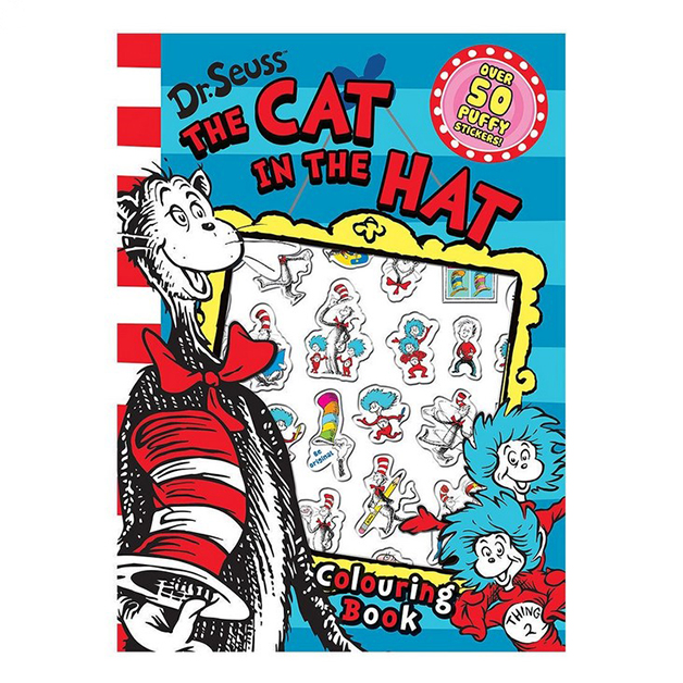 Dr. Seuss The Cat In The Hat Colouring & Sticker Book