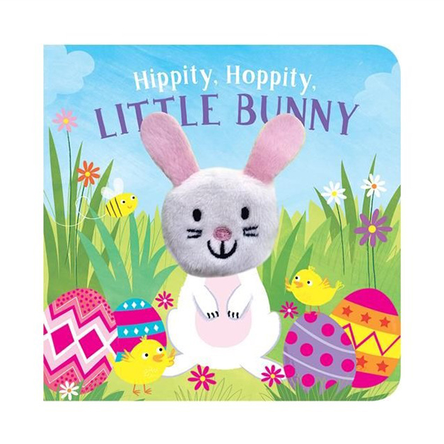 Hippity Hoppity Little Bunny Finger Puppet Book