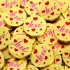 'Love' Chocolate Medallions x 3