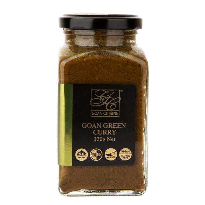 Goan Cusine Green Curry Sauce 320g
