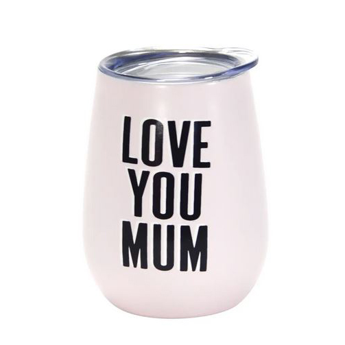 'I love you Mum' Wine Tumbler 295ml