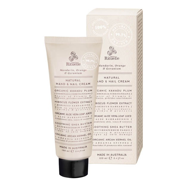 Mandarin, Orange & Geranium Natural Hand & Nail Cream 100ml