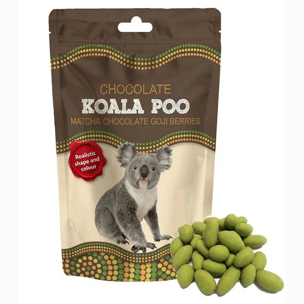 Matcha White Chocolate Koala Poo 150g