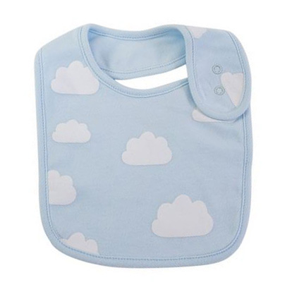 Baby Bib - Blue Clouds