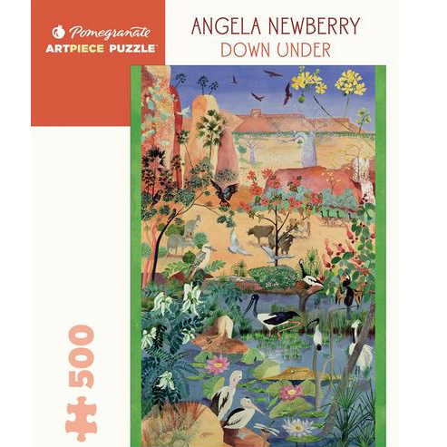 Art Piece Puzzles - Downunder by Angela Newberry 500 piece