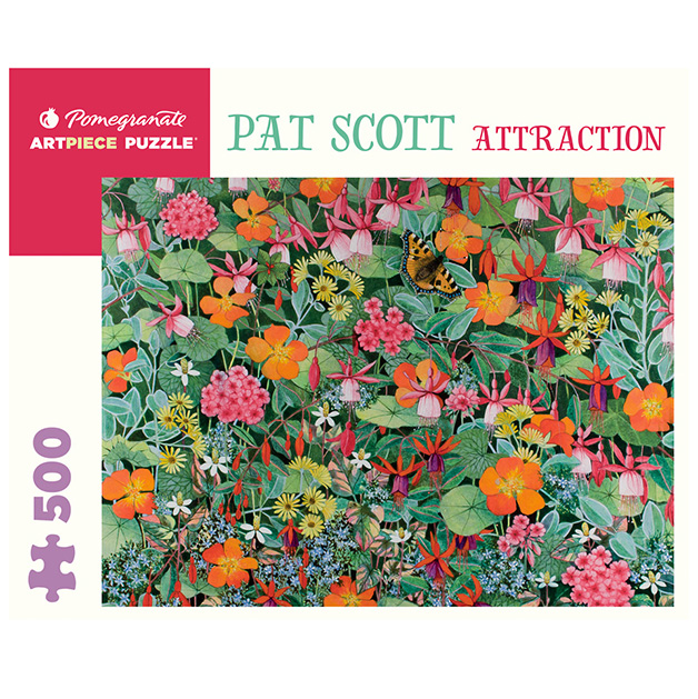 Art Piece Puzzles - Attraction by Pat Scott 500 piece