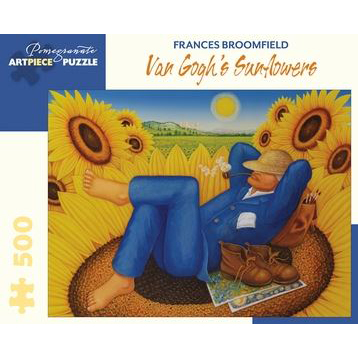 Art Piece Puzzles - Van Gogh's Sunflowers by Frances Broomfield 500 piece