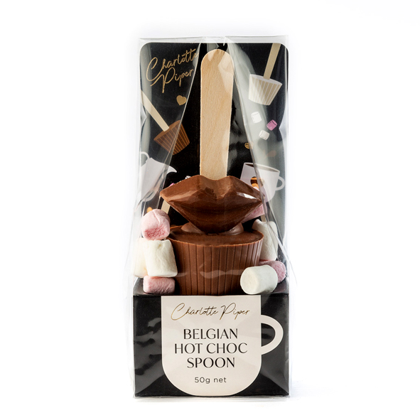 Hot Chocolate Kiss Spoon with Marshmallows