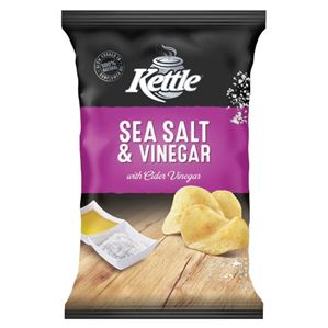 Kettle Potato Chips - Sea Salt & Balsamic Vinegar 45g
