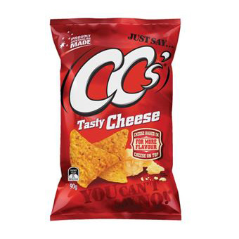 CC's Corn Chips - Tasty Cheese 90g